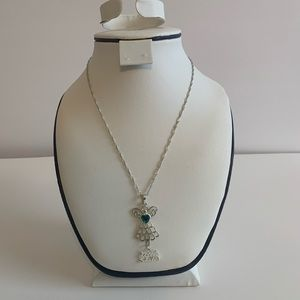 Angel Charm Little Sister Chain Necklace